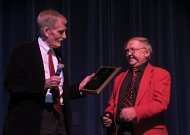 "Del. Overington Presents 2017 ""Winners Award"" to Michael L. Noll"
